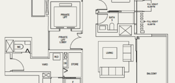 the-avenir-floor-plan-3-bedroom-3la-singapore